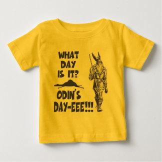 Camiseta Para Bebê O dia de Odin