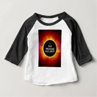 Camiseta Para Bebê O eclipse solar americano obtem o 21 de agosto de