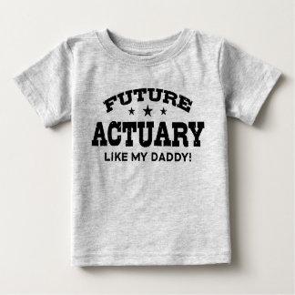 Camiseta Para Bebê O escrivão futuro gosta de meu pai