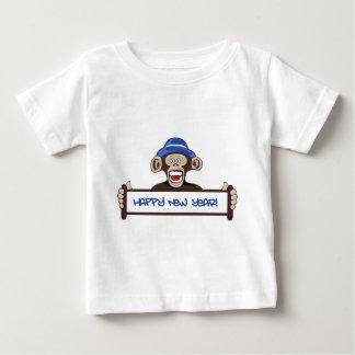 Camiseta Para Bebê o feliz ano novo