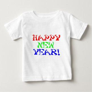 Camiseta Para Bebê O feliz ano novo 1