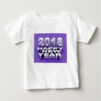 Camiseta Para Bebê O feliz ano novo 2018
