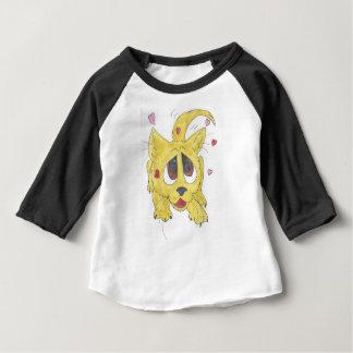 Camiseta Para Bebê O filhote de cachorro dos namorados