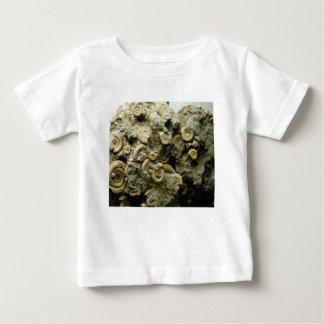 Camiseta Para Bebê o fóssil descasca a arte