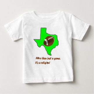 Camiseta Para Bebê O futebol em Texas é religião