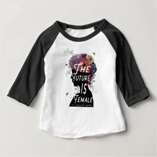 Camiseta Para Bebê O futuro é fêmea - t-shirt da criança