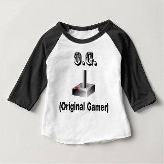 Camiseta Para Bebê O.G. Gamer original