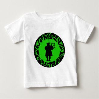 Camiseta Para Bebê O gaiteiro Pied