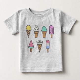 Camiseta Para Bebê O gelado caçoa a parte superior - escolha sua