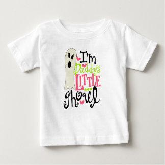 Camiseta Para Bebê O Ghoul pequeno o Dia das Bruxas do pai