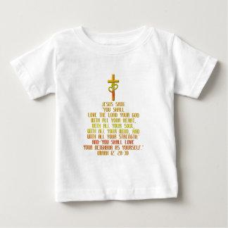 Camiseta Para Bebê O grande mandamento
