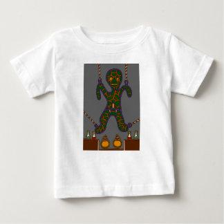 Camiseta Para Bebê O homem suspendido