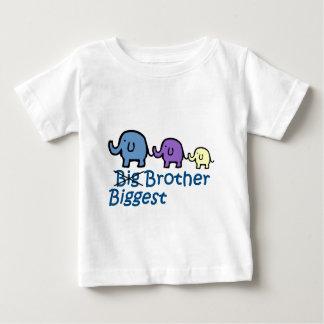 Camiseta Para Bebê O irmão o mais grande