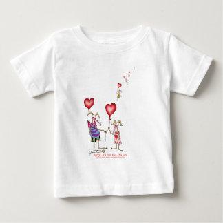 Camiseta Para Bebê o .it dos fernandes tony. não é mim, ele é você…