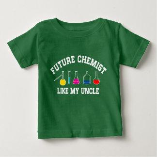 Camiseta Para Bebê O jogador de beisebol futuro gosta de meu tio