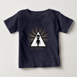 Camiseta Para Bebê O Marciano