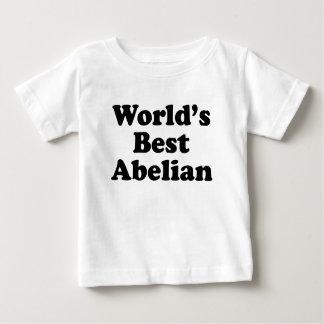 Camiseta Para Bebê O melhor Abelian do mundo