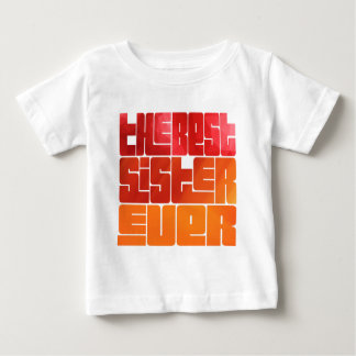 Camiseta Para Bebê O melhor cumprimento sempre Funky da irmã