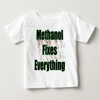 Camiseta Para Bebê O metanol fixa tudo 1