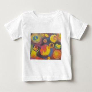 Camiseta Para Bebê O Micro-Universo em desenvolvimento