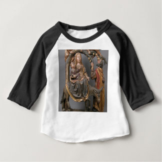 Camiseta Para Bebê O milagre da palmeira no vôo Egipto