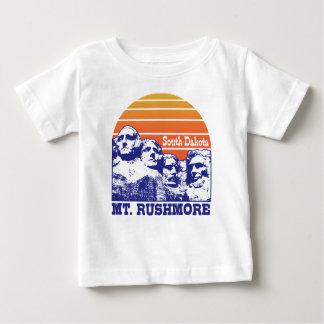 Camiseta Para Bebê O Monte Rushmore