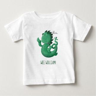 Camiseta Para Bebê O Nessie pequenino de Loch Ness personalizou