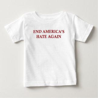 Camiseta Para Bebê O ódio de América da extremidade outra vez