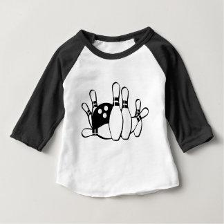 Camiseta Para Bebê O partido feito sob encomenda personaliza destinos