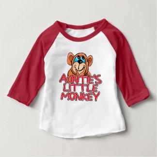 Camiseta Para Bebê O Pequeno Macaco do Auntie