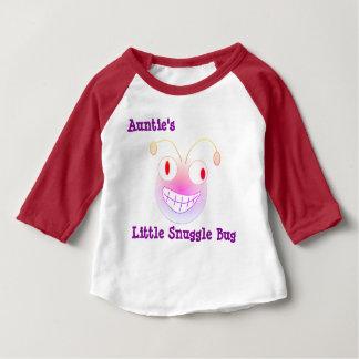 Camiseta Para Bebê O Pequeno Snuggle Desinsetar do Auntie