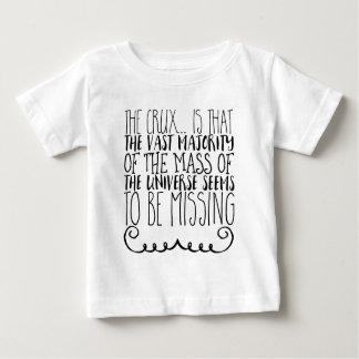 Camiseta Para Bebê O ponto crucial… é que a grande maioria da massa