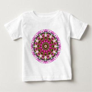 Camiseta Para Bebê O primavera floresce, pica, Flor-Mandala, natureza