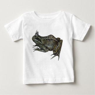 Camiseta Para Bebê O príncipe do sapo