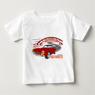 Camiseta Para Bebê O que é atrás de você não importa. E.F.