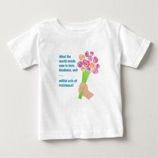 Camiseta Para Bebê O que o mundo precisa agora