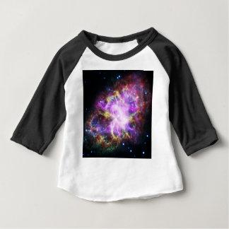 Camiseta Para Bebê O raio X de Chandra na nebulosa de caranguejo