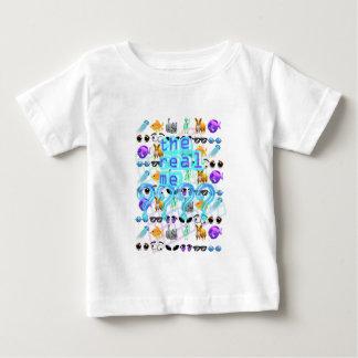 Camiseta Para Bebê O real mim