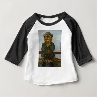 Camiseta Para Bebê O sapo sábio
