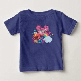 Camiseta Para Bebê O Sesame Street | Elmo & Abby - seja