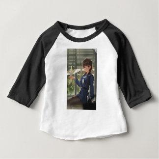 Camiseta Para Bebê O Sis de Lil espera o seu do trabalho