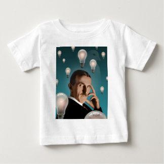 Camiseta Para Bebê O sonho de Tesla