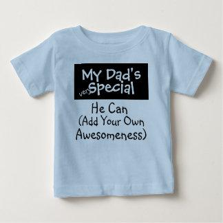 Camiseta Para Bebê O Special do meu pai (...................)