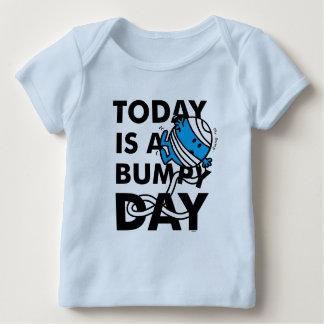 Camiseta Para Bebê O Sr. Colisão   é hoje um dia instável