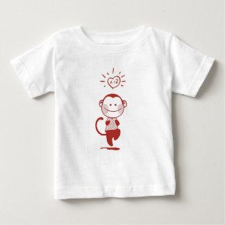 Camiseta Para Bebê O T 2011 de 12 miúdos do _dos macacos