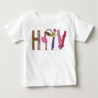 Camiseta Para Bebê O T | HAVANA do bebê, CU (HAV)