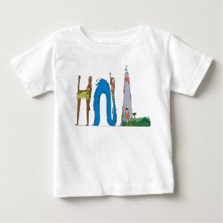 Camiseta Para Bebê O T | HONOLULU do bebê, HI (HNL)