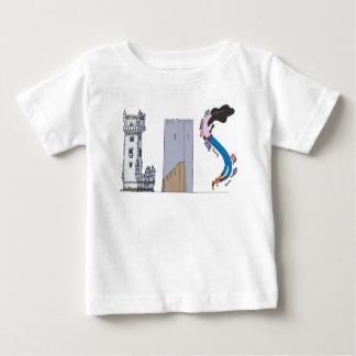 Camiseta Para Bebê O T   LISBOA do bebê, pinta (LIS)