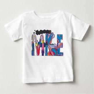 Camiseta Para Bebê O T | MILWAUKEE do bebê, WI (MKE)