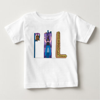 Camiseta Para Bebê O T | PHILADELPHFIA do bebê, PA (PHL)